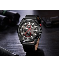 Armi Force watches -Black strap-Black Dial