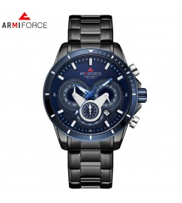 Armi Force watches -Black chain-Blue Dial -chain