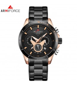 Armi Force watches -Black chain-Black Dial -chain