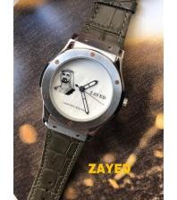 Custom  watches -Zayid Brand meroon